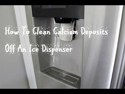 How To Clean Calcium Deposits Off An Ice Dispenser ORGANICALLY