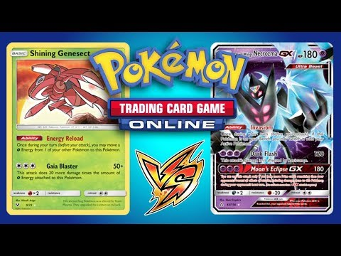 Can I win a game with Shining Genesect? Pokemon TCG Online Gameplay
