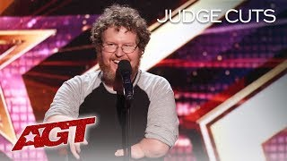 Download Hilarious Comedian Ryan Niemiller Talks About Dating With A Disability - America's Got Talent 2019 Video