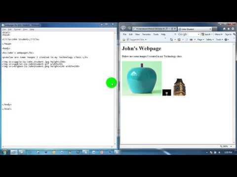7   HTML   img src   height vs width