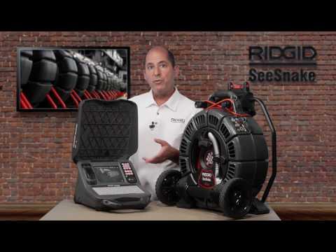 RIDGID SeeSnake CS65x Product Tutorial