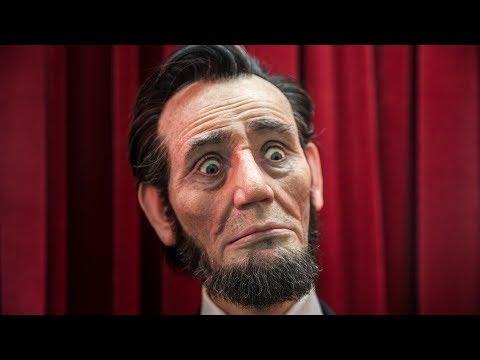 Lifelike Animatronic Abraham Lincoln!
