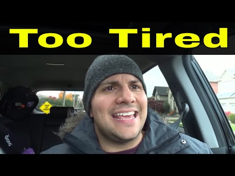 Reason To Fail The Driving Test-Being Too Tired