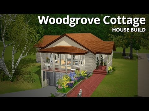 The Sims 3 House Building - Woodgrove Cottage