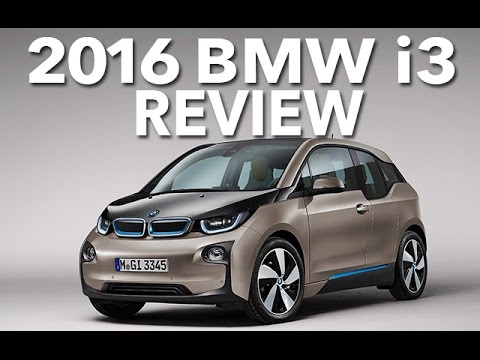 Electric or Eccentric? 2016 BMW i3 Review and Test Drive