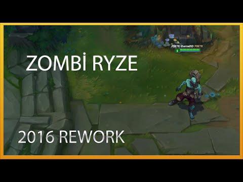 Zombi Ryze (Rework Sonrası 2016) League of Legends