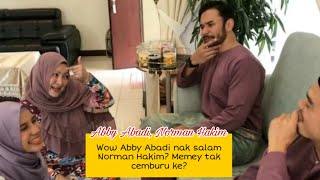 Abby Abadi nak salam Norman Hakim? Jai dan memey gelakkan je!