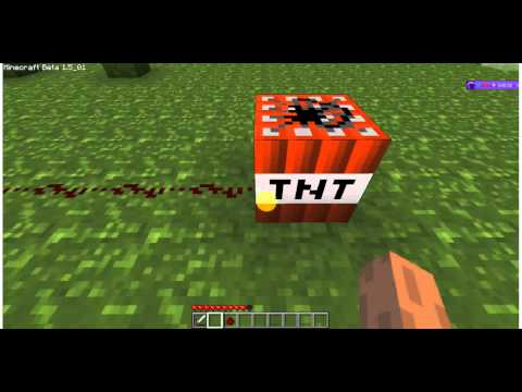 Minecraft 003:Tnt Activation/Using Redstone