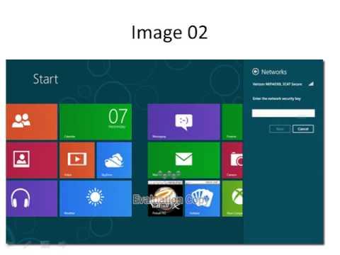enable wireless setting in windows 8