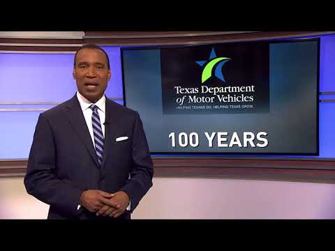 Texas DMV unveils commemorative license plate