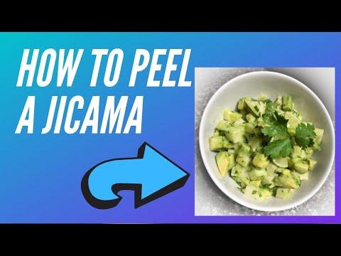 How To Peel Jicama