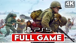 CALL OF DUTY WW2 PS5 Gameplay Walkthrough Part 1 Campaign FULL GAME [4K 60FPS] - No Commentary