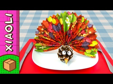 DIY Thanksgiving Turkey Napkin Holder | Craft Ideas On BoxYourself With Xiaoli