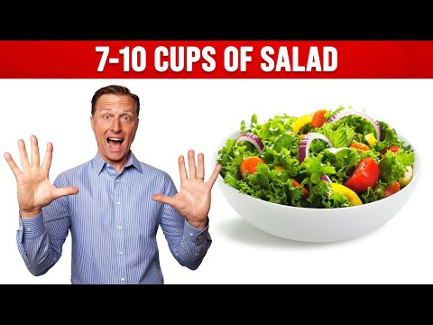 What Does 7-10 Cups of Salad Look Like?