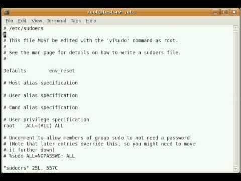 Add user to Ubuntu server using terminal