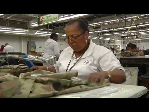 Blind Industries and Services of Maryland - Salisbury Sewing - May 2016
