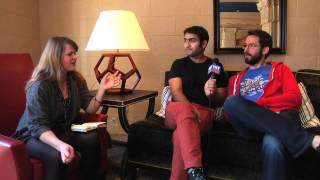 Silicon Valleys Kumail Nanjiani And Martin Starr Talk Made up Start ups
