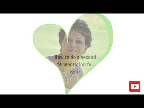 How to do a second fermentation process for fermented drinks