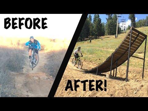 MTB JUMP PROGRESSION!   2 YEARS OF MTB JUMP FOOTAGE!   NOOB TO EXPERIENCED MOUNTAIN BIKER