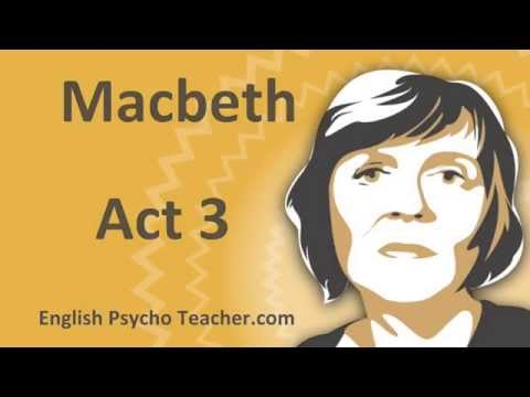 Macbeth Act 3 Summary with Key Quotes & English Subtitles