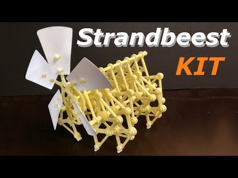 Strandbeest model Kit ( Build and Review )