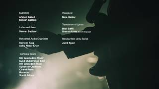 Coke Studio Season 11, Episode 7 - Sahil, End Credits