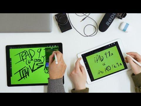 iPad Pro VS 2018 New iPad | A Designer's Perspective