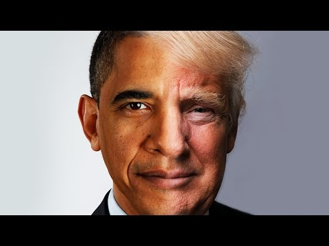 Washington to Trump (Presidential Morph)