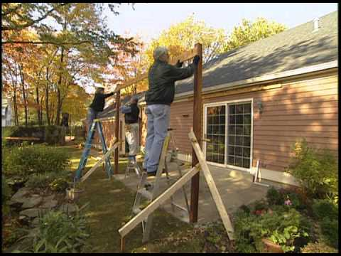 How to Build a Pergola Over a Patio