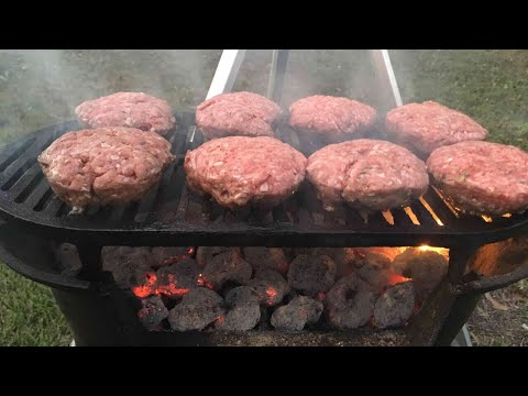 How to Cook Burgers on the Lodge Sportsman's Grill