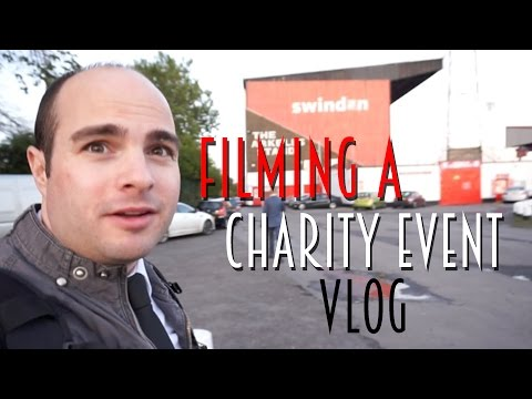 Filming a Charity Event Vlog