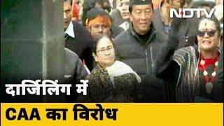 Chief Minister Mamata Banerjee ने Darjeeling में CAA विरोधी मार्च का नेतृत्व किया