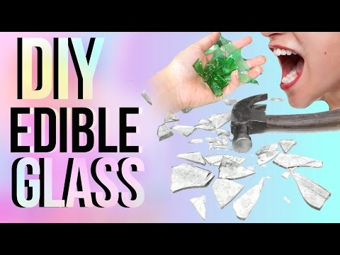 DIY EDIBLE GLASS!! | JENerationDIY