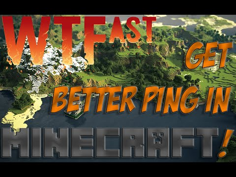 Get Better Ping in Minecraft! + Ping Test