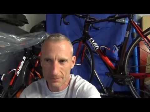 cycling with a broken collar bone!