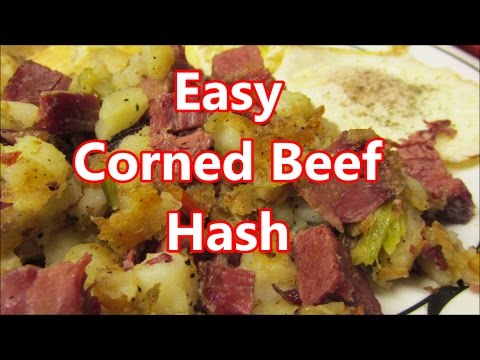 Easy Corned Beef Hash in a Flash
