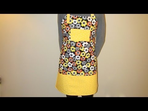 How to Sew an Apron DIY