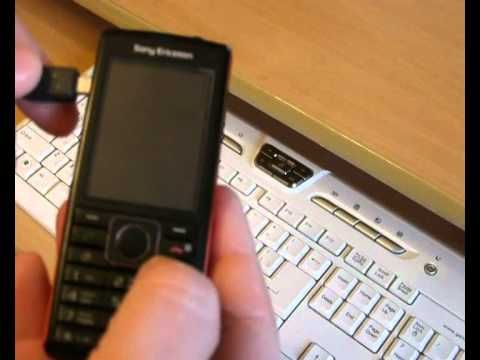 Sony ericsson m600i driver download.