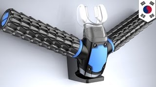 Triton oxygen mask allows underwater breathing without oxygen tanks
