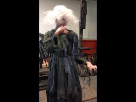 Chair Screamer: Most terrifying Halloween prop ever?