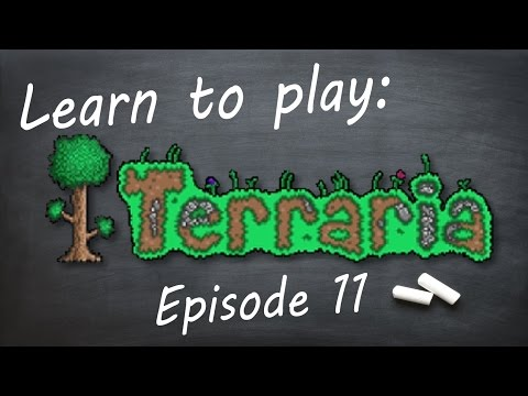 Learn to play: Terraria (Episode 11)
