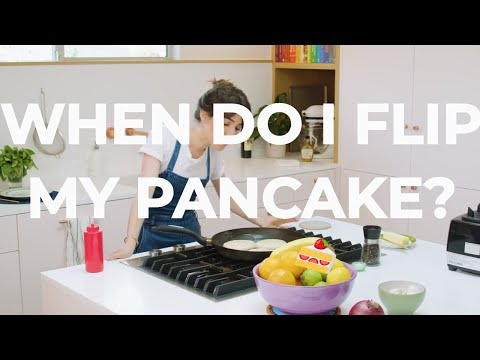 When to Flip Your Pancake!