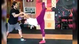 Neetu Chandra Amazing Workout Video