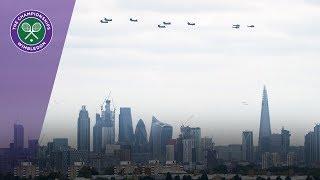 RAF flyover to celebrate 100th anniversary | Wimbledon 2018