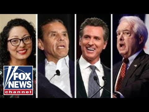 Candidates for California governor fight for top two spots