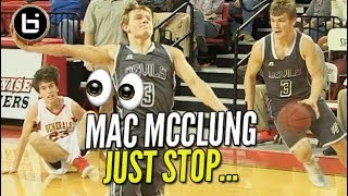 Mac McClung on his Russell Westbrook?!? (42 points 14 assists 9 boards)