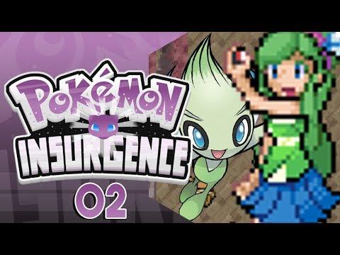 Pokemon Insurgence Part 2 MYSTERY GIFT & CELEBI Pokemon Fan Game Gameplay Walkthrough