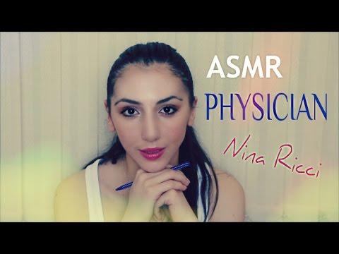 asmr DOCTOR NINA Role Play & ASMR Whisper MIGRAINE Insomnia Cure Binaural Relax