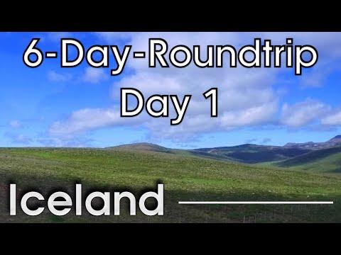 Iceland in 6 days:  Day 1 - from Keflavik to Akureyri