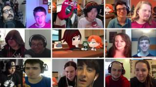 RWBY Volume 4 Chapter 1 (The Next Step) - Mega Reaction Compilation